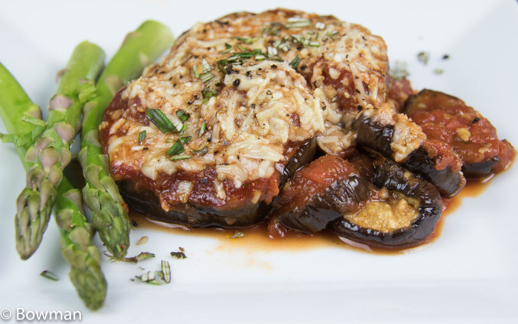 Eggplant Parmigiana in less than 45 minutes